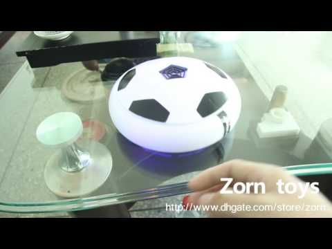 hoverball Electric suspension football+LED Lights hover football Air Power Soccer Football Zorn toys