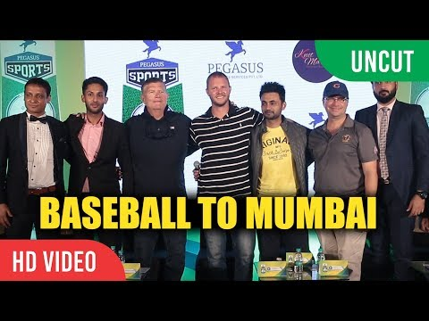 UNCUT - Baseball To Mumbai | Pegasus Sports | Grand Slam Baseball