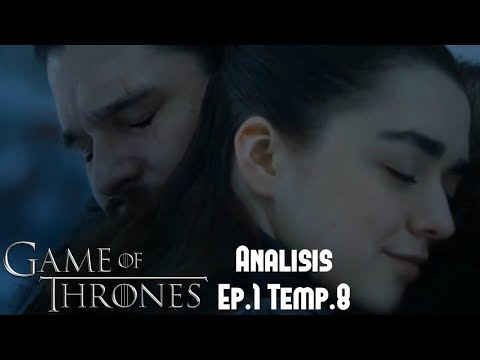 Análisis Game Of Thrones Episodio 1 Temporada 8 'Winterfell'