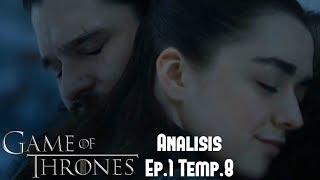 """Análisis Game Of Thrones Episodio 1 Temporada 8 """"Winterfell"""""""