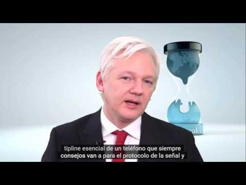 Julian Assange Vault 7 Conferencia de Prensa