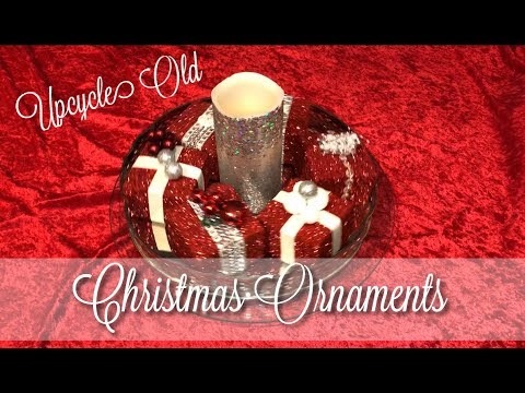 Upcycle Old Christmas Ornaments | Redesign Your Old Decorations it's FREE!!!