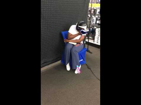 THE BEST PLAYSTATION VR REACTION EVER