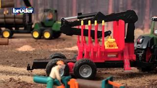 Figurenset Forstwirtschaft mit Zubehör -- 62650 -- Bruder Spielwaren