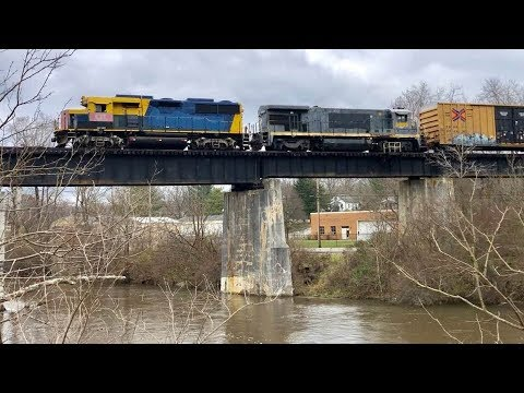 Industrial Railroad Branch Switching, Cincinnati Eastern Railroad Car Storage Moves! Columbia Rail