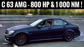 800 сил, 1 000 Нм и 320 км/ч   самый быстрый Mercedes Benz C 63 AMG! Тест драйв + поломка + дрифт!)