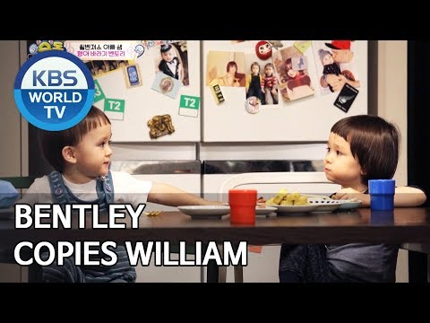 Bentley copies everything William does [The Return of Superman/2020.02.02]