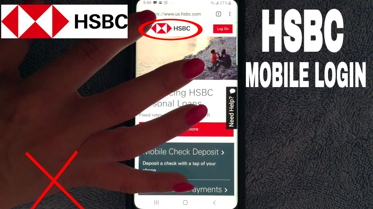 ✅ How To Login Register Lost Password HSBC Bank Mobile Website 🔴