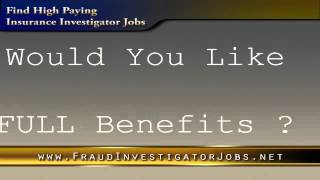 Insurance Investigator Jobs Insurance Fraud Investigator Employment