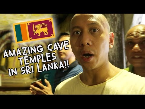 AMAZING CAVE TEMPLES IN SRI LANKA! WOW!   Vlog #97