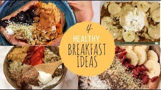 4 DAYS OF HEALTHY BREAKFAST   SWEET EDITION   gf & vegan options