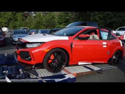 2017 Honda Civic Type R Arrival