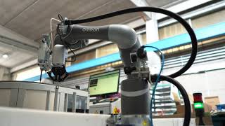 Precise and consistent assembly of magnets and coatings with a cobot for the automotive market