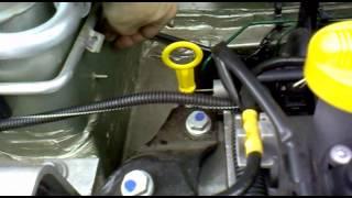 Врезка топливного фильтра Renault Logan - II (фаза 2)