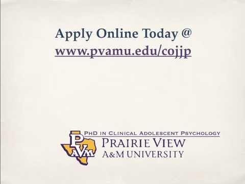 PVAMU Clinical Psychology PhD Program