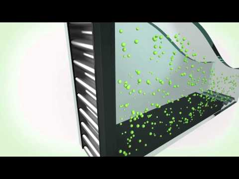 Argon Gas Reduces Energy Loss from Windows & Doors: Animation