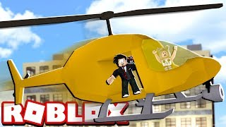 HOTEL FUN WITH HELICOPTER | ROBLOX-Iceberg Hotels