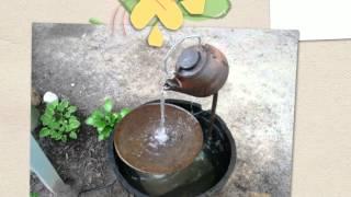 Как сделать фонтан для дачи
