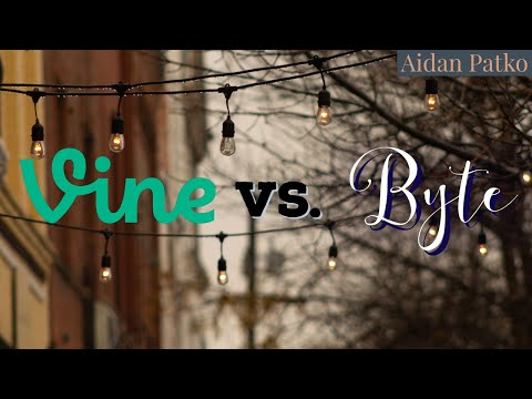 VINE vs. BYTE: Looping videos of the past & future Mp3
