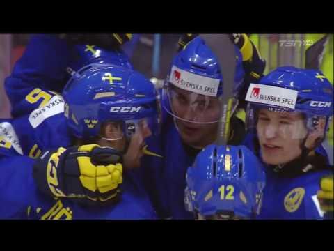 2016 IIHF World Juniors Canada vs Sweden December 31st 2015 (HD)