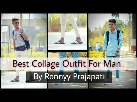 Best Collage Outfit For Man | Back To Collage | Ronnyy Prajapati