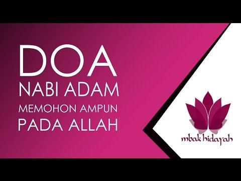 Doa Nabi Adam Memohon Ampun Pada Allah