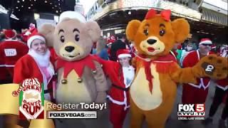 2017 Las Vegas Great Santa Run FOX5 Promo