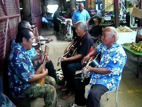 Tongan market musicians