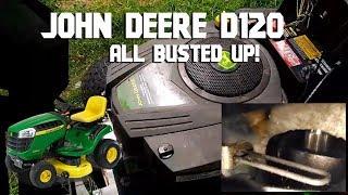 John Deere D120 broken connecting rod