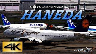 【4K】1Hour!! SPECIAL SPOTTING 2018@ HANEDA AIRPORT International Terminal JAPAN