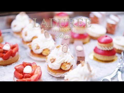 Brunch in LADURÉE @ Paris