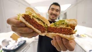 MEATIEST VEGAN BURGER? Beyond Burger Taste Test