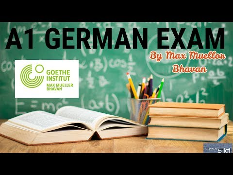 A1 Level German Exam By Goethe Institut | Max Mueller Bhavan | Part 1 | GERMAN GYAN