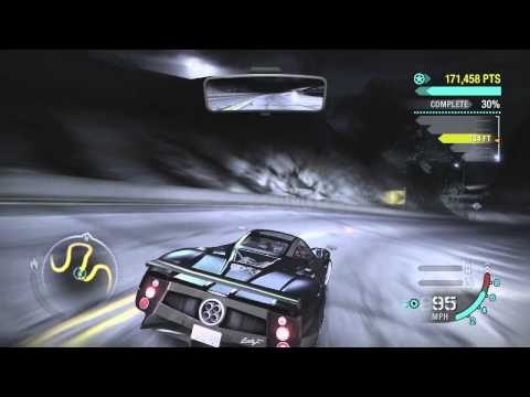 Need For Speed Carbon: Pagani Zonda F [LIVE COMMENTARY]