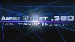 Ammo Quest .380: Federal HST tested in ballistic gel