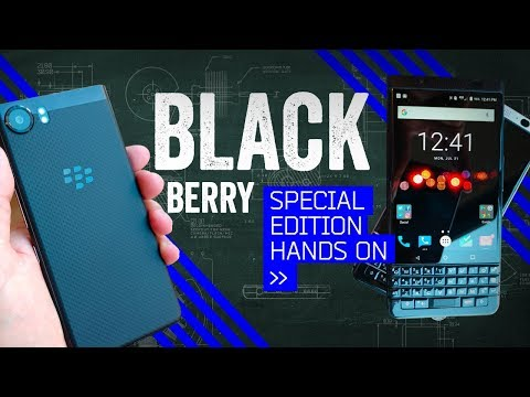 "BlackBerry KEYone Special Edition: Hands-On With The ""Vader Berry"""