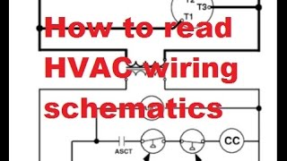 HVAC Reading air conditioner wiring schematics - YouTubeYouTube