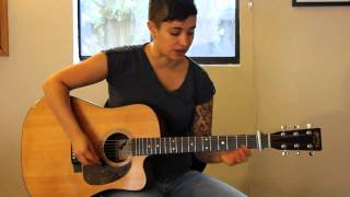 "How to play ""Everything I Do (I Do It For You)"" by Bryan Adams rhythm guitar - Jen Trani"