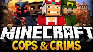 Minecraft: Cops and Crims Ep.2 w/ ChooChoosGAMING BigbSt4tz AppearToFear
