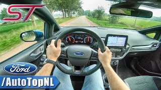 2019 Ford Fiesta ST 200HP 1.5 Turbo POV Test Drive by AutoTopNL