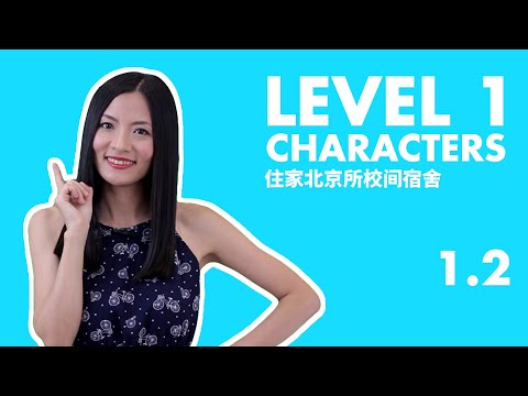 Chinese Characters for Beginners Learning | Chinese Characters Writing Explained | HSK 1 Course 1.2