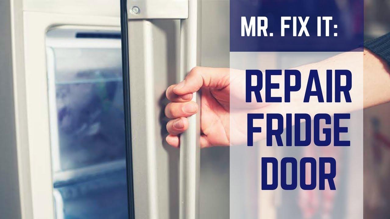 HOW TO  Repair Refrigerator Door Seal