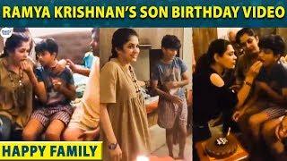 Ramya Krishnan's Super happy moments with her Son Ritwik Vamsi | Krishna Vamsi | LittleTalks
