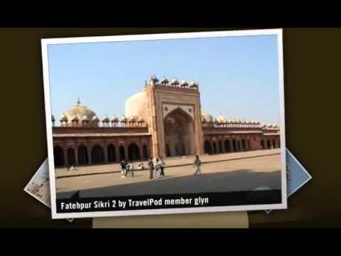 """Fatehpur Sikri - Akbar's abandoned city"" Glyn's photos around Agra, India (merika finland)"