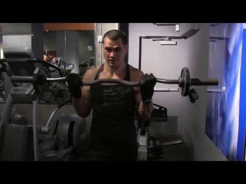 Barbell Biceps Curl, Biceps Brachii Kasi Nasil Calistirilir ?