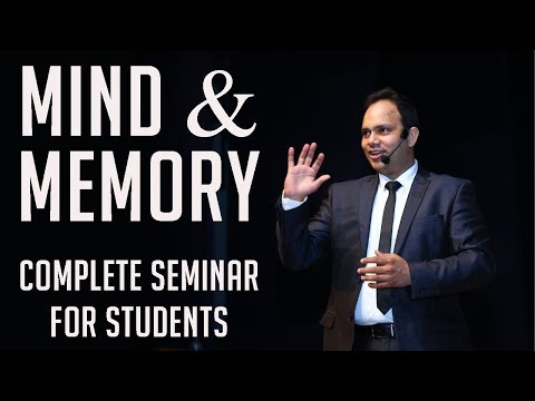 Best Seminar on Mind & Memory for Students | VED