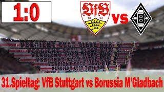 #vfbbmg | vfb stuttgart vs borussia m'gladbach (1:0) stadion vlog #19