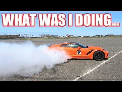 I Am NEVER Going Drag Racing Again. Seriously.