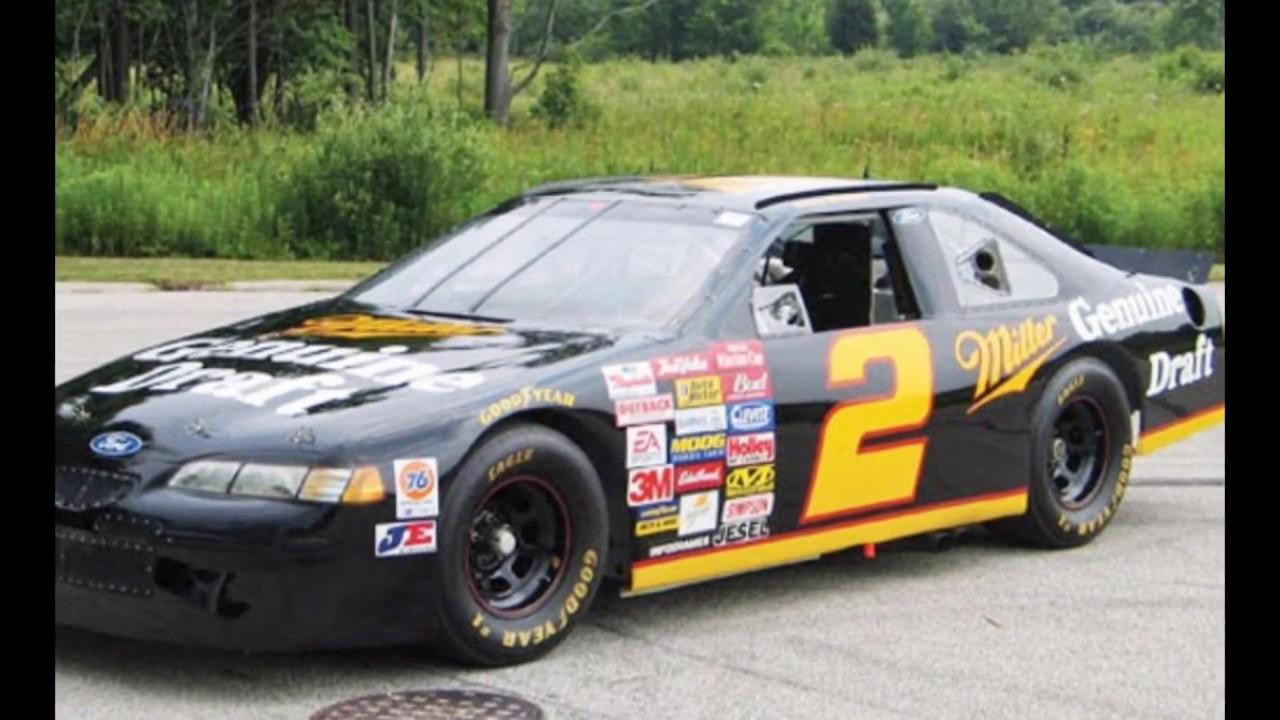 Rusty Wallace Ford >> NASCAR THUNDERBIRD - DRIVEN BY RUSTY WALLACE - YouTube