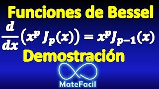06. Properties of Bessel Functions (first kind, any order). DEMONSTRATION